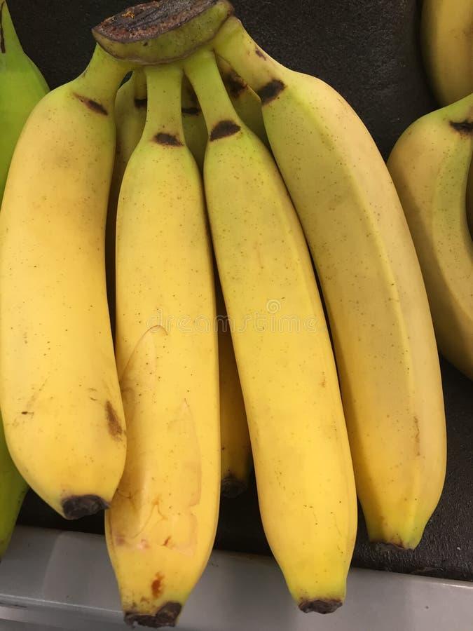 Bananen bij markt royalty-vrije stock fotografie