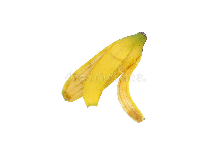 Bananen-Haut lizenzfreie stockfotografie