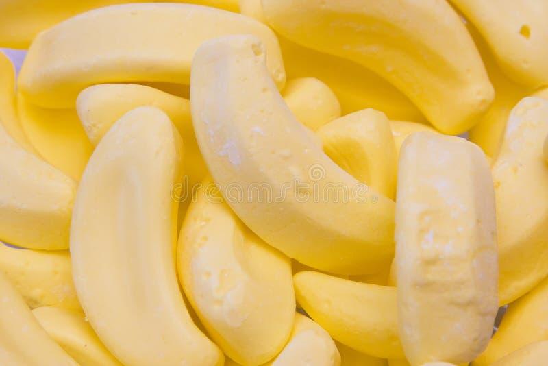 Bananen-Hintergrund stockfoto