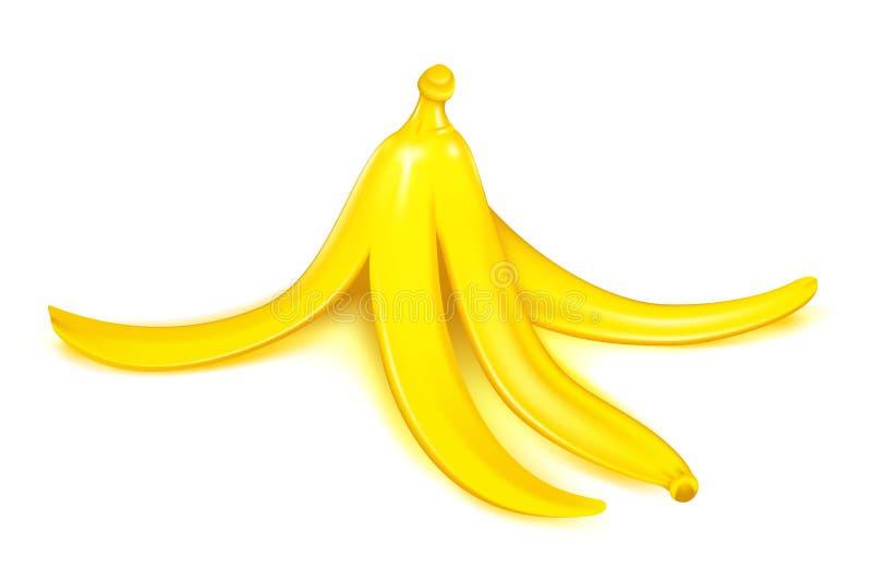 Bananen-Schale vektor abbildung