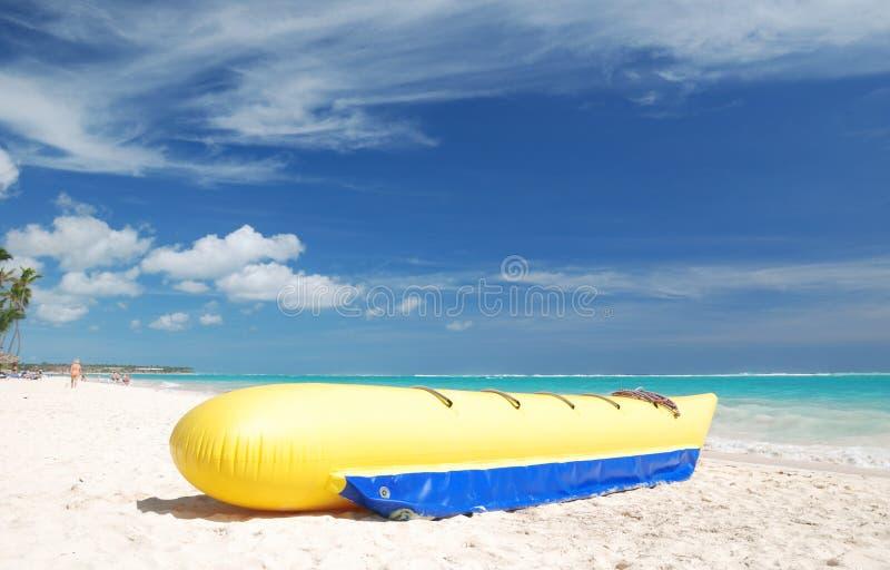 Bananenboot lizenzfreie stockfotos