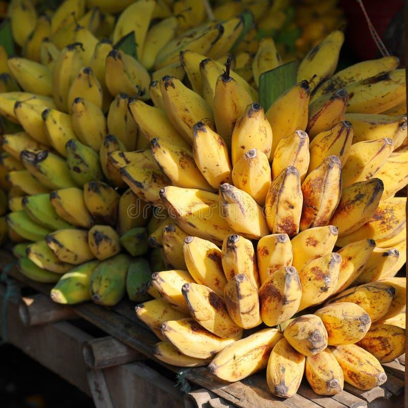 Bananenbox royalty-vrije stock afbeelding