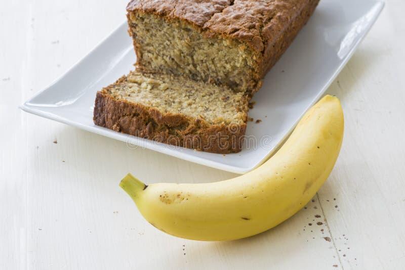 Bananenkuchen lizenzfreies stockfoto
