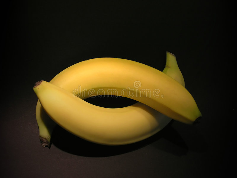 Bananenliebe lizenzfreie stockfotos