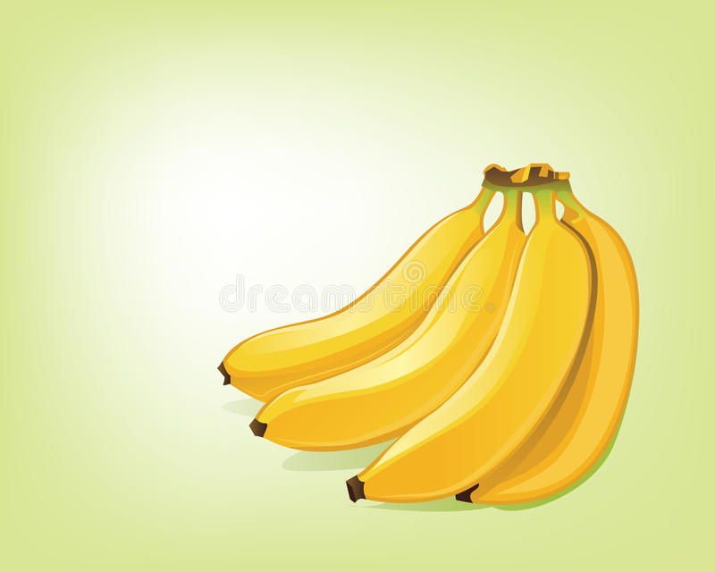 Bananes illustration stock