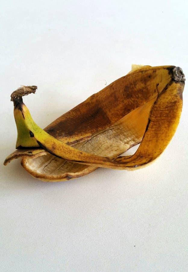 Bananeschil royalty-vrije stock fotografie