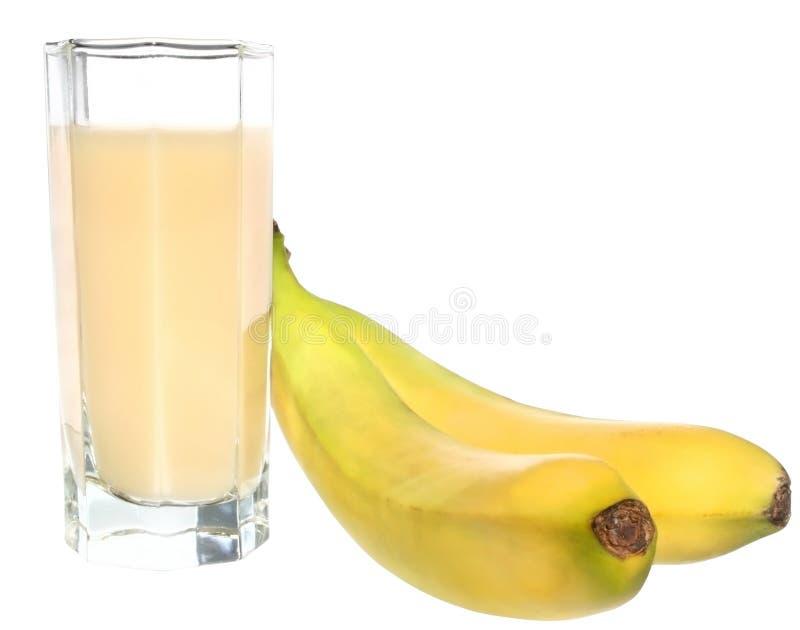 bananfruktsaft royaltyfri bild