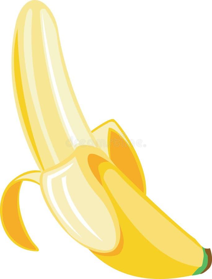 bananillustration vektor illustrationer