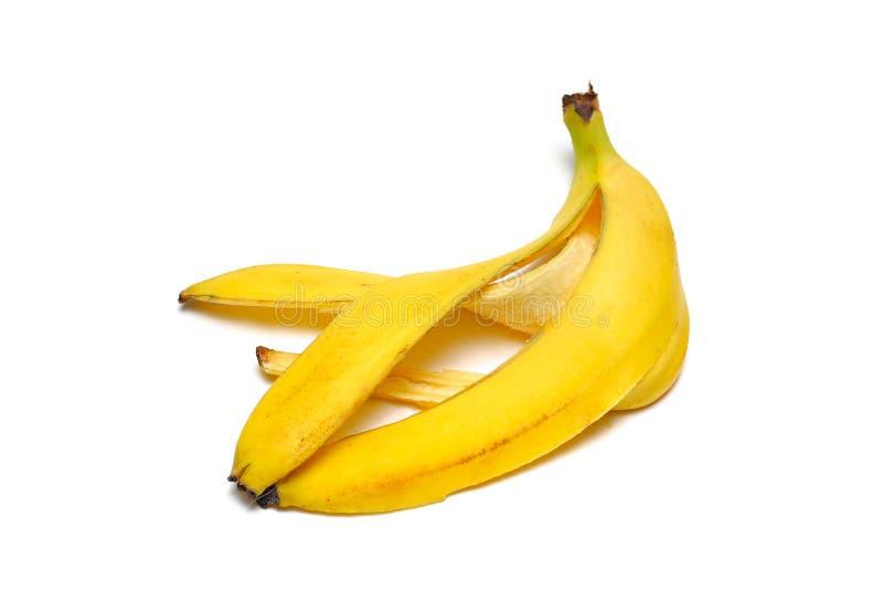 bananowa łupa zdjęcia stock