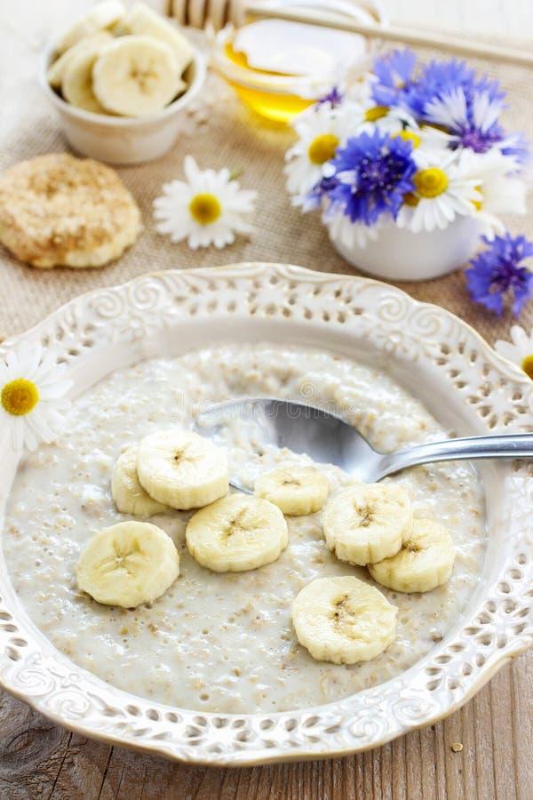 Bananowa polewka zdjęcie royalty free