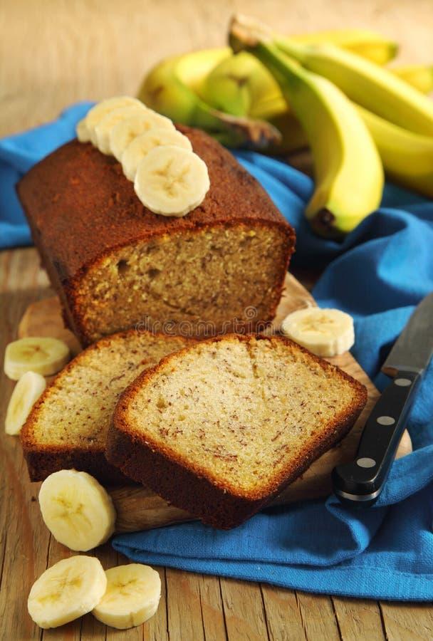Bananowy chleb obrazy royalty free