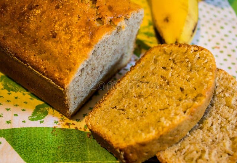 Bananowy pudding zdjęcie royalty free