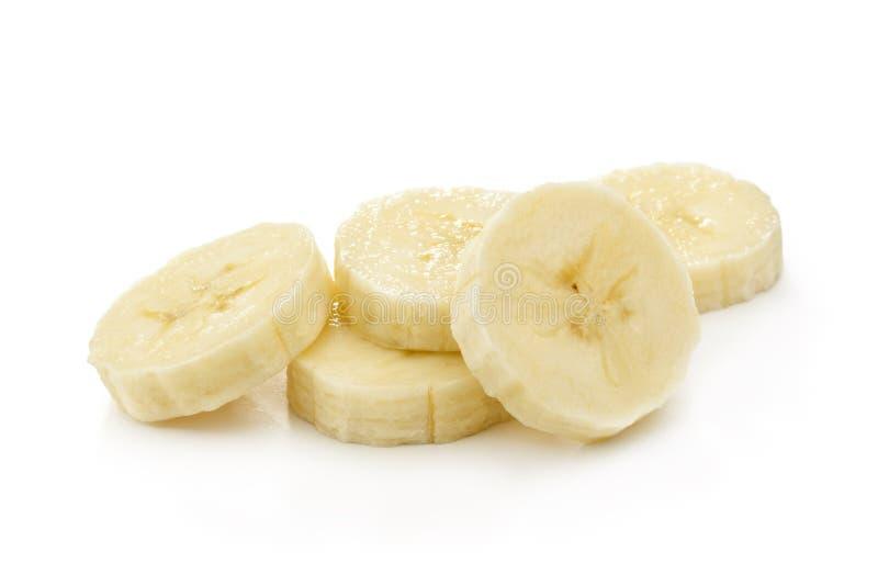 Bananskivor royaltyfri bild