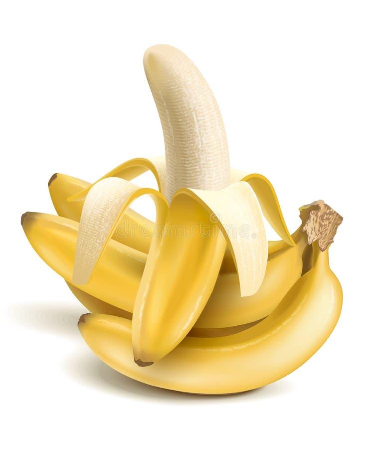Banany ilustracji