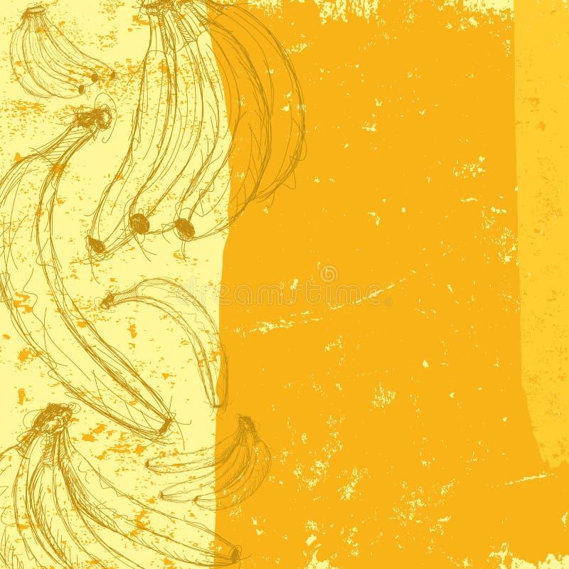 Banany royalty ilustracja