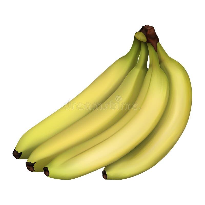 banany dojrzali fotografia stock