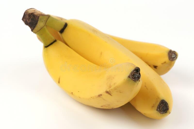 banany dojrzali trzy obrazy royalty free