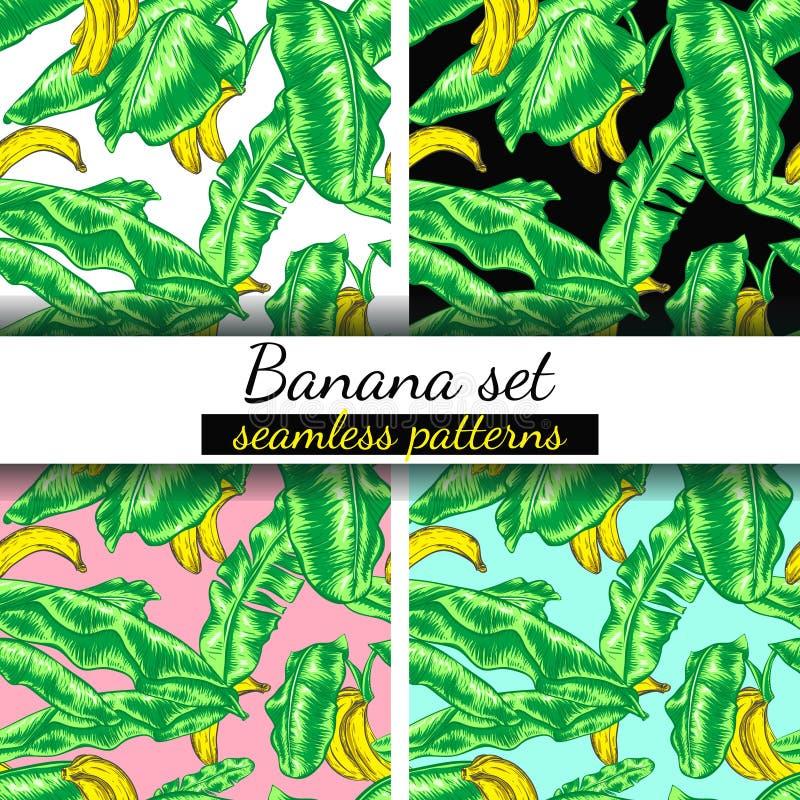 Banany ustawiający ilustracji