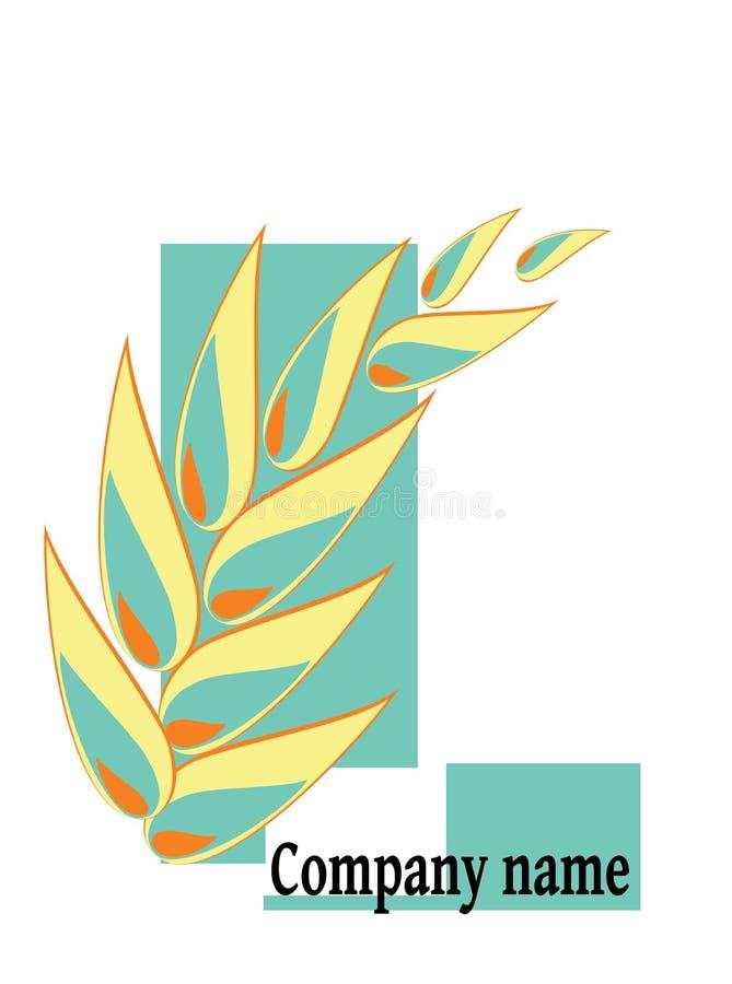Banatka z brzmieniami kolory ilustracja wektor