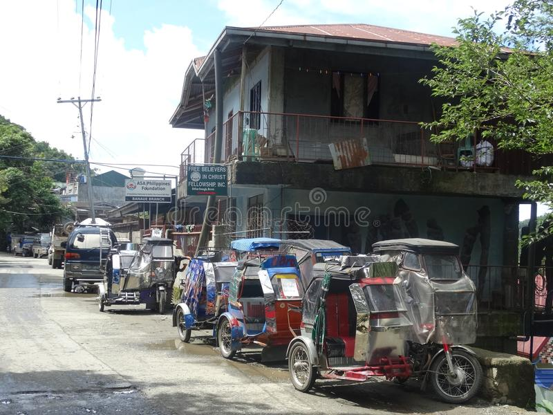 Banaue - Luçon, Philippines photographie stock