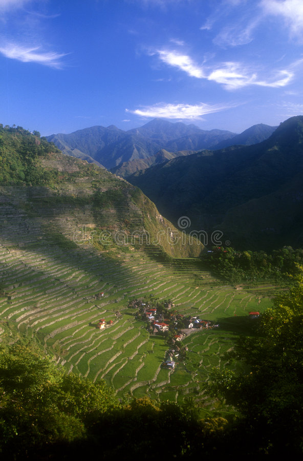 Banaue Philippines stock photo