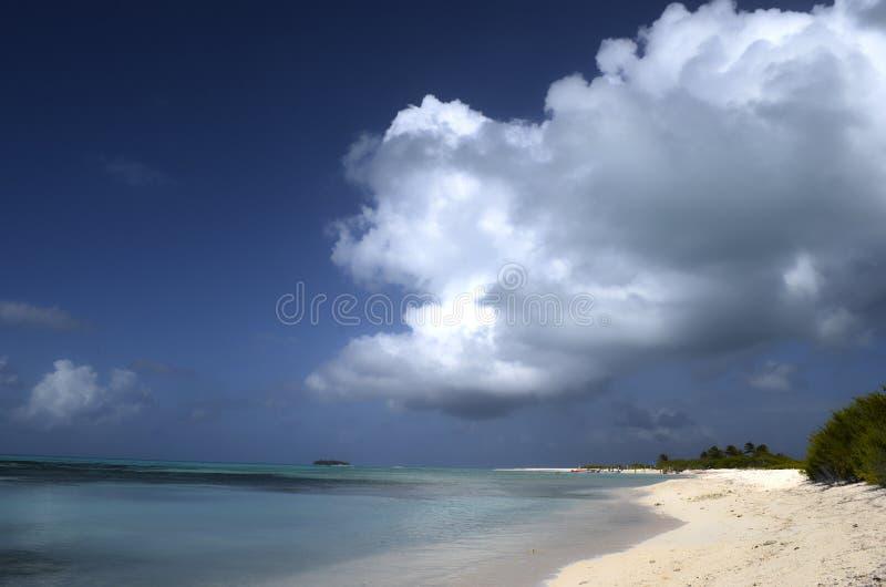Banc de sable de Bolivar photos stock