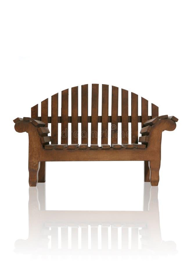 Banc en bois images stock