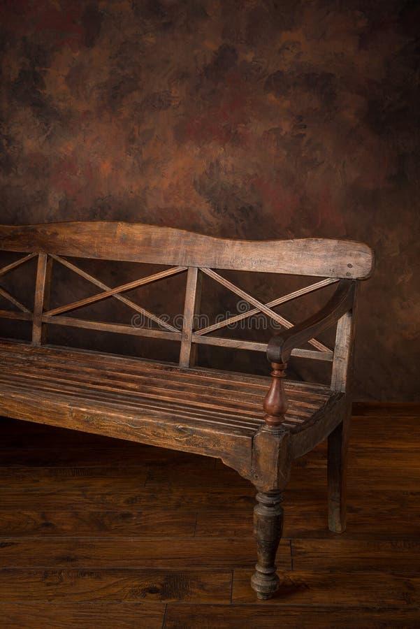 Banc en bois photos stock