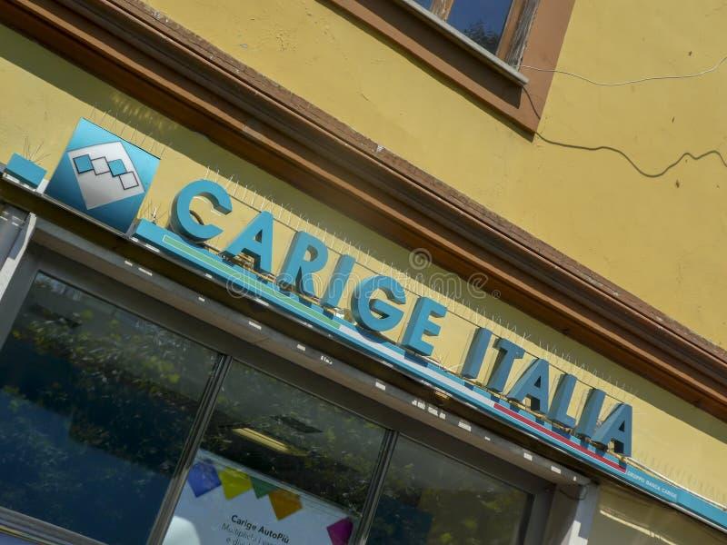 Banca Carige Италия стоковые фотографии rf