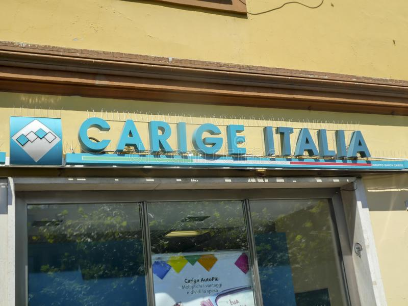 Banca Carige Italie images libres de droits