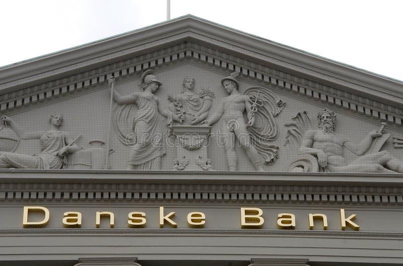 BANCA DI DANSKE BANK_DANISH fotografie stock