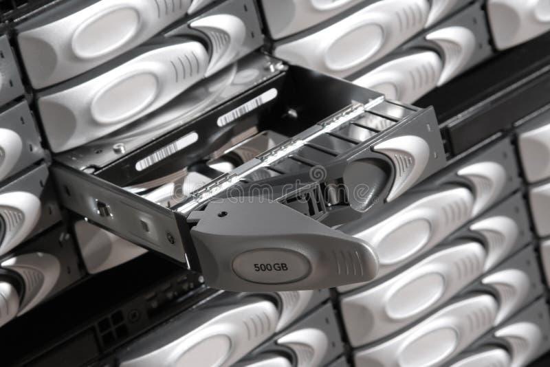 Banca di dati di memoria fotografia stock