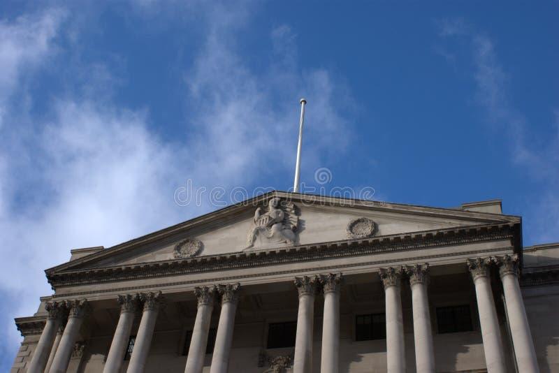 Banca di Inghilterra immagine stock
