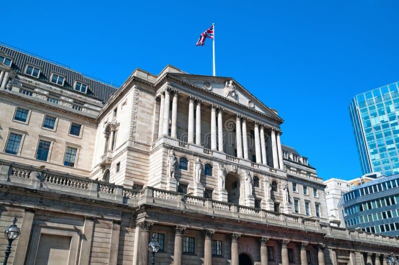 Banca di Inghilterra, Londra fotografia stock libera da diritti