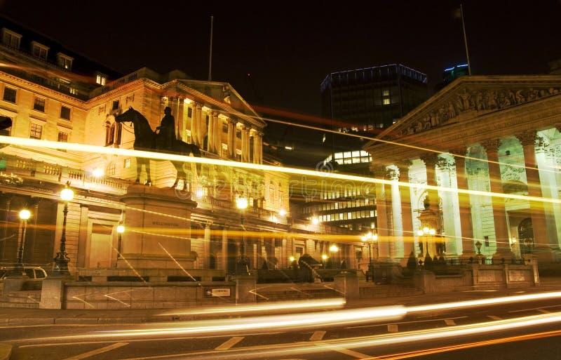 Banca di Inghilterra, Londra fotografie stock libere da diritti