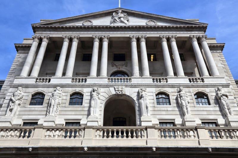 Banca di Inghilterra di Londra immagini stock