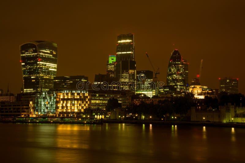 Banca di Londra Tamigi Southwark immagini stock