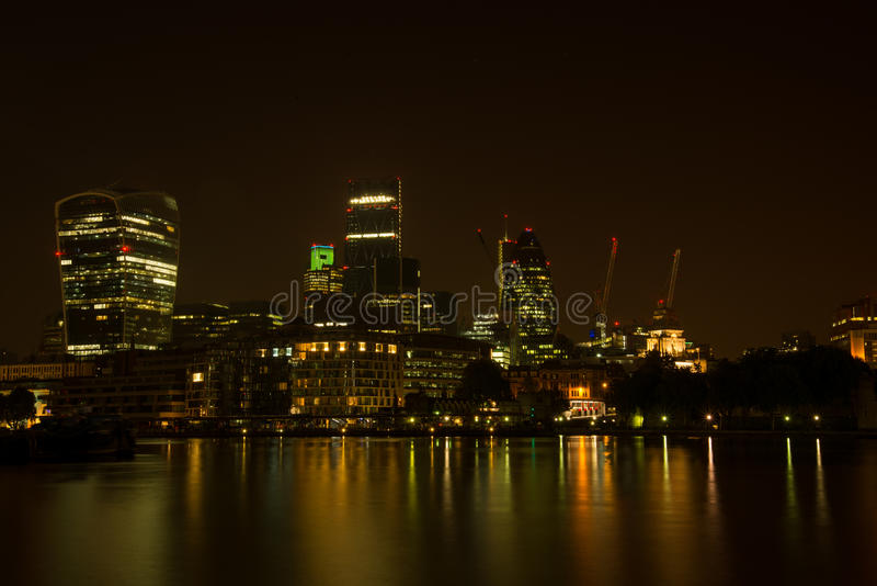Banca di Londra Tamigi Southwark fotografia stock libera da diritti