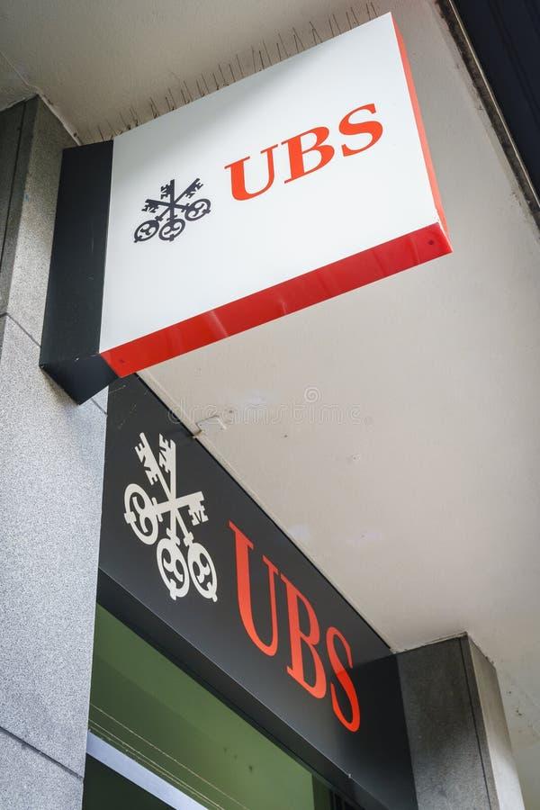 Banca di UBS immagini stock libere da diritti