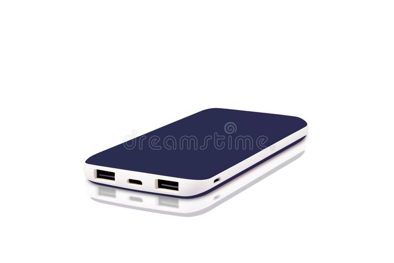 Banca esclusiva di potere di USB fotografia stock