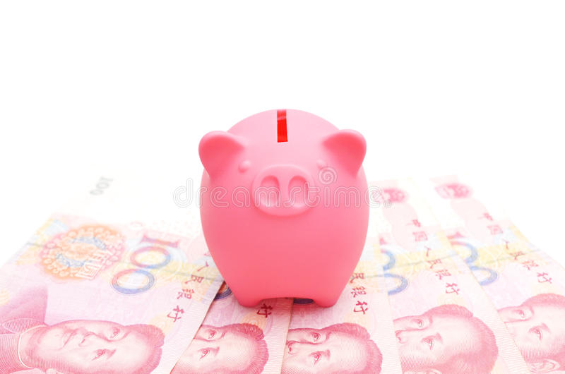 Banca Piggy immagine stock