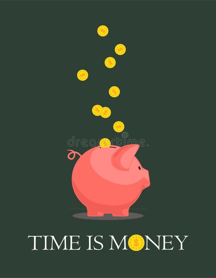 Banca Piggy. royalty illustrazione gratis