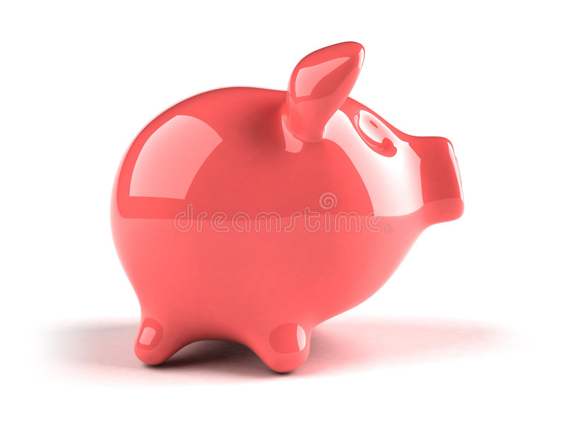 Banca Piggy illustrazione di stock