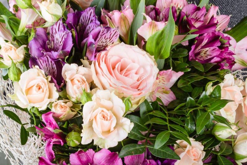 Banch del primo piano dei fiori immagini stock libere da diritti