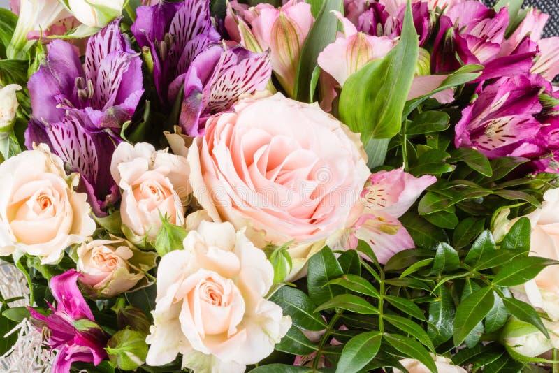 Banch del primo piano dei fiori fotografie stock