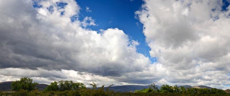 Banche di nube fotografie stock libere da diritti