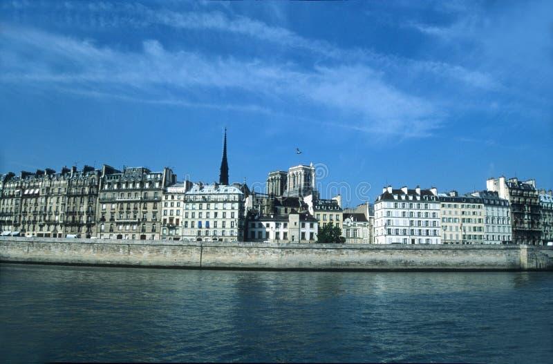 Banche di Seine fotografie stock