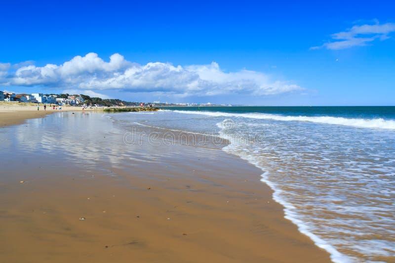 Banchi di sabbia Dorset immagini stock libere da diritti