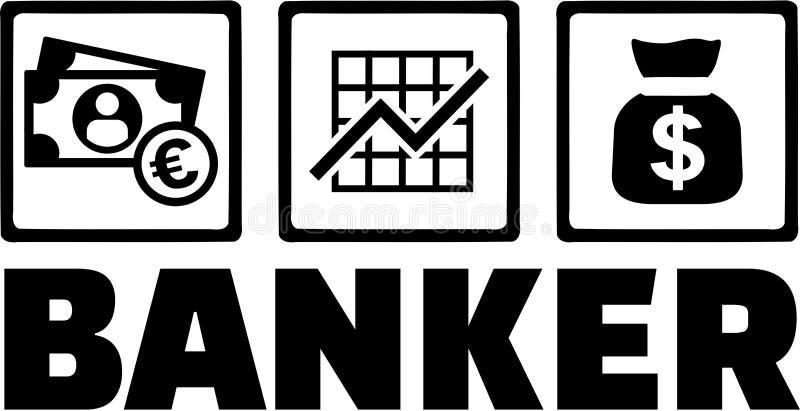 Banchiere Money royalty illustrazione gratis