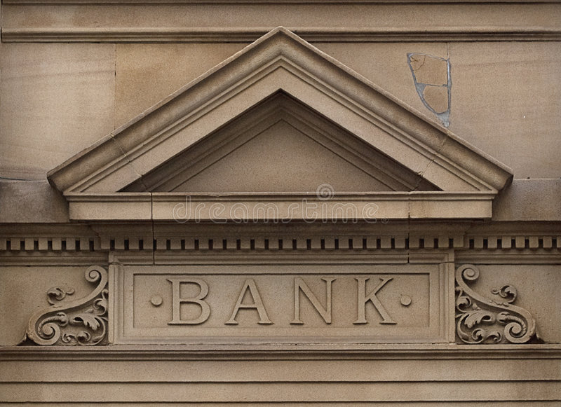 Banco fotos de stock
